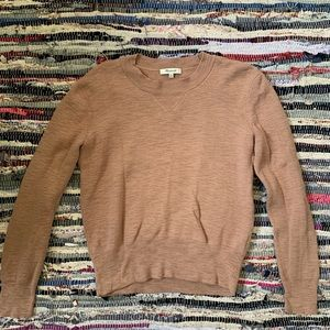 Madewell Cashmere Brown sweater